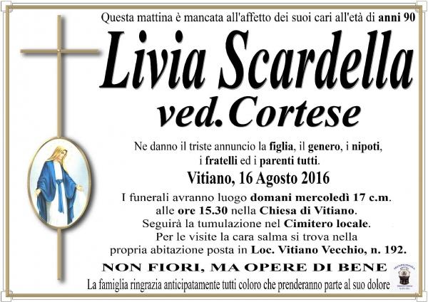 LIVIA SCARDELLA VED. CORTESE